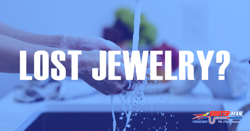How to retrieve jewelry that is lost in the sink.